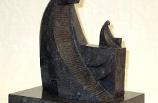 BD.'Archetype', Bronze, granite patina