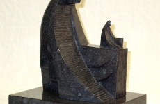BD.'Archetype', Bronze, granite patina